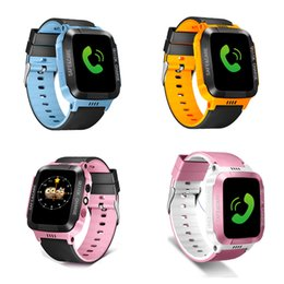 $enCountryForm.capitalKeyWord Australia - Kids Smart Watch with GPS GSM Locator Touch Screen Tracker SOS With Alarm Step counter Camera Smart Baby Watch