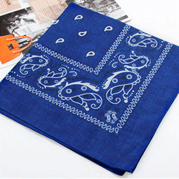 Tie hair scarf online shopping - Outdoor Square Bandana Headwear Hair Band Scarf Neck Wrist Floral Wrap Head Casual Tie