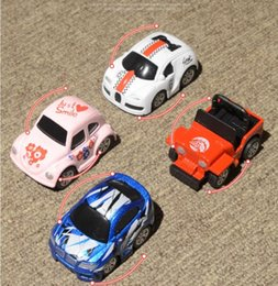 Cars Wholesale Prices Australia - low price Mini cartoon pink alloy metal car model pull back children's toy Retro bus   beetle   bus   retro bus 4 styles for kids gift