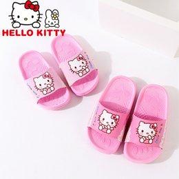LittLe girLs sLips online shopping - Children s slippers summer home non slip baby slippers cute little princess girl shoes