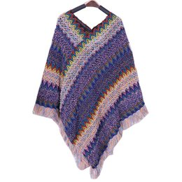 Small Scarf korean online shopping - Korean version of the fall and winter new line Girlfriend Cape Cape Short style knitting knot wool tie small shoulder scarf outside tie