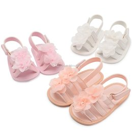 baby summer sandals 2019 - 2019 new Summer floral Baby Moccasins Soft Newborn First Walker Shoes girls princess Sandals Flower Infant Shoes C6298 c