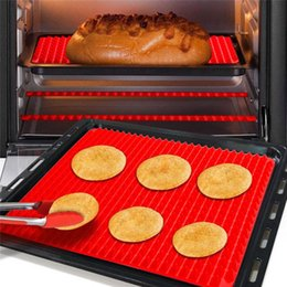 Silicone Microwave Mat Australia - Bakeware Nonstick Silicone Baking Mats BBQ Pyramid Pan Pad Moulds Microwave Oven Baking Tray Sheet Kitchen Baking Tools