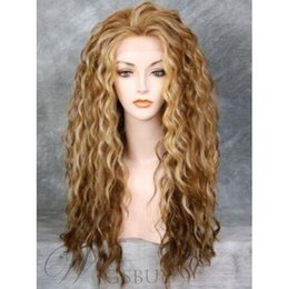 $enCountryForm.capitalKeyWord NZ - Sweet Long Wavy Synthetic Hair Wig 24 Inches NO LACE