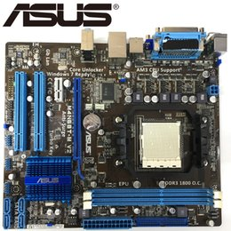 $enCountryForm.capitalKeyWord Australia - Asus M4N68T-M V2 Desktop Motherboard 630A Socket AM3 For Phenom II Athlon II Sempron 100 DDR3 16G u ATX Original Used Mainboard