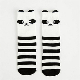 boys toddlers socks Canada - Lovely express Anti Slip Cartoon Fox Kids baby Socks Knee Girl Boy baby Toddler Socks animal infant Soft Cotton Socks 0 to 6 Y