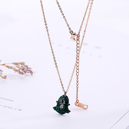 Voodoo pendant online shopping - Statement Voodoo Doll Necklaces Maxi Chain Pendant Stainless Steel Bohemian News Choker Girls Women Accessories