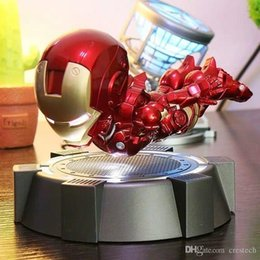 children magnetic toys UK - crestech 2019 The new stores Marvel Avengers , Magnetic levitation Illuminated Iron Man , Luminous toy Child Boys Girls Gift