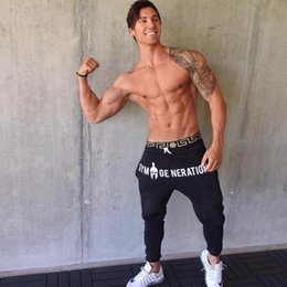 free gym clothes NZ - Brand Gyms Men Joggers Casual Men Sweatpants Joggers Pantalon Homme Trousers Sporting Clothing Bodybuilding PantsMX190905
