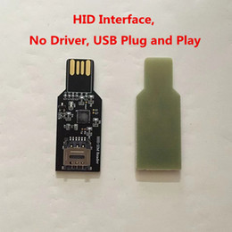 sim card dongle NZ - USB 2.0 Dongle For Unlock Sim Card Update firmware for Chinasnow Heicardsim HID interface no Driver.