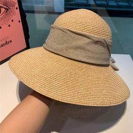 89f16efde63 Brand diamond Straw Sun Hat For Women Men Unisex British Style Sunshade  Beach Panama Jazz Top Hat Vintage Female Male 2019 Summer Vacation