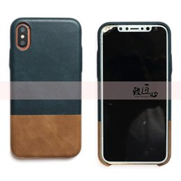 Iphone Backcover UK - DOKDO Brand New Super Slim Premium Leather Phone Case Protect Cover Shockproof Soft Backcover For iPhone 6 7 8 plus XR Max note9
