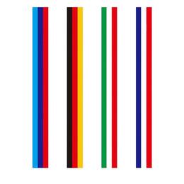 $enCountryForm.capitalKeyWord Australia - Fashion Design 7.5cm*25meter M type Germany Italy France flag stripe car hood sticker body decal for BMW Z4 M3 M5 M6 E46 series