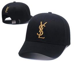 BaseBall cap print online shopping - New Luxury Designer Dad Hats Baseball Cap For Men And Women Famous Brands Cotton Adjustable Skull Sport Golf Curved Hat