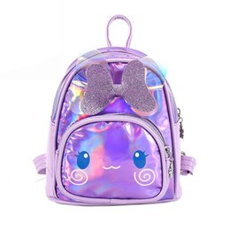 backpacks movies Canada - 3D Cartoon Kids Bag Holographic Backpack for Children Laser School Bags Backpack for Girl bags Mochila Escolar