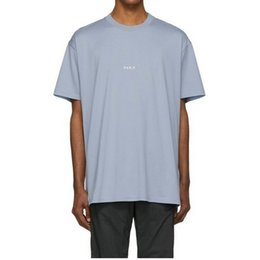 oversized tees mens 2019 - 19SS Luxury Sky Blue Letter Logo Printing Shorts Mens Designer T Shirts Womens Couples T Shirt High Quality Oversized Te