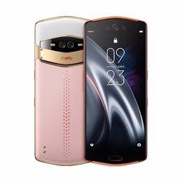 "Originale Meitu V7 4G LTE Smart Phone mobile RAM 8GB 128GB ROM Snapdragon 845 Octa core Android 6.21"" Phone AMOLED 20.0MP impronte digitali Cell ID in Offerta"