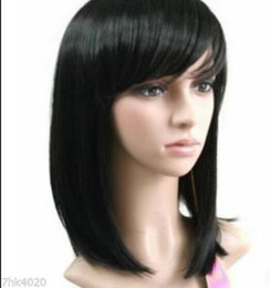 Wholesale WIG LL NEW COS gt gt gt sexy style black medium health Wig wigs f