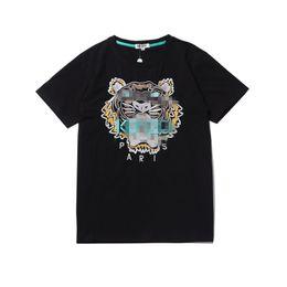 Wholesale tiger animal print shirts for sale – custom Hot Sale Brand Shirt Designer Women Mens Tiger pattern T shirt Fashion Casual Spring Summer Top Tees High Quality Tshirt H