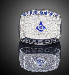 Free masons rings online shopping - New arrived Gold color Men Hip hop Free Mason Rings fashion Stainless Steel vintage Masonic ring male Hiphop jewelry gifts