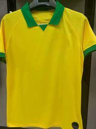 AmericA jerseys sAle online shopping - 2019 Copa America PAULINHO Soccer Jersey D COSTA soccer shirt COUTINHO G JESUS home yellow Football uniforms sales