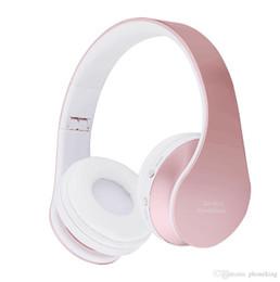 $enCountryForm.capitalKeyWord Australia - Wireless Bluetooth Headset Wireless Headphones Stereo Foldable Sport Earphone Microphone Headset Heavy Bass For Phone Laptop