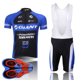 $enCountryForm.capitalKeyWord Australia - 2019 Giant New Summer Mountain Bike Short Sleeved Cycling Jersey Kit Breathable Quick -Dry Men And Women Riding Shirts Bib Shorts Set