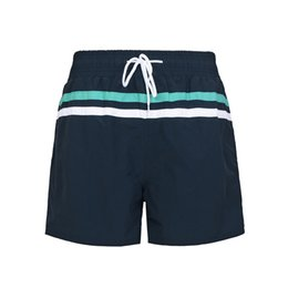 red white blue swimsuit men UK - 2019 Mens Swimwear Swim Shorts Trunks Beach Board Shorts Swimming Pants Swimsuits Mens Running Sports Top sale Surffing