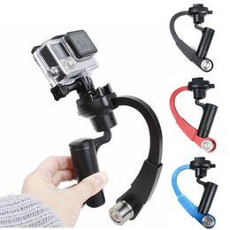 Steadycam video online shopping - New Pc Mini Handheld Video Stabilizer Steadicam Steadycam Hand Grip For Hero