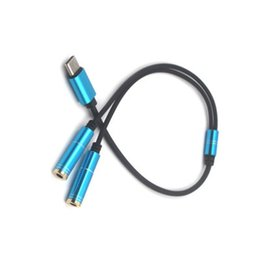 $enCountryForm.capitalKeyWord UK - Type-C To 3.5MM Audio Extension Cable Male To Female Mobile Phone Cable Charging Listening Song Two In Oneor Millet