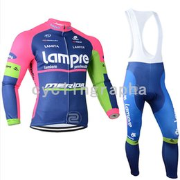 $enCountryForm.capitalKeyWord Australia - 2019 Pro team LAMPRE LOTTO Cycling long Sleeves jersey bib pants sets Men spring bike Cycle Clothes ropa ciclismo Hombre