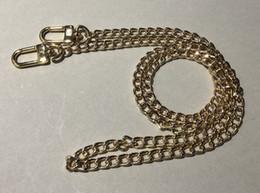 Wholesale customer order, L DIY 120cm Metal Chain Shoulder Strap   Crossbody For Functional   Mini POCHETTE POUCH   Mini bag Cosmetic Cases