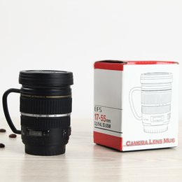 $enCountryForm.capitalKeyWord Australia - Simple Lens Camera Cup Coffee Cup Small Mug Stainless Steel 220ml