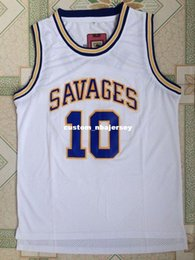 Cheap custom Savages The Worm  10 Dennis Rodman College Basketball Jerseys  Stitched Customize any number name MEN WOMEN YOUTH XS-5XL 857c9bacc