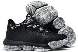 2ff4c2e4a4b4 New mens Lebrons 16 XVI low basketball shoes for sale retro BHM Oreo lebron  james 3 sneakers size 7-12