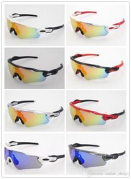 sunglasses riding glasses Australia - Top quality Radar EV Pitch sunglasses Polarized glasses bike sun glass mens sports glasses riding glasses TR90 frame outdoor Cycling Eyewear