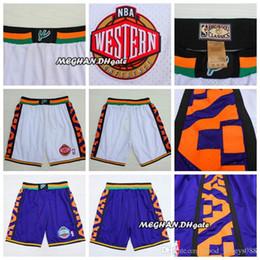 45 pants online shopping - Mens Western star Basketball Short Basketball Short Michael Pant JD star Trousers Team White Blue