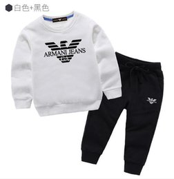 $enCountryForm.capitalKeyWord NZ - SALE 2019 Baby Boys And Girls Suit Brand Tracksuits 2 Kids Clothing Set Hot Sell Fashion Spring Autumn Children's Dresses Long Sleeve H