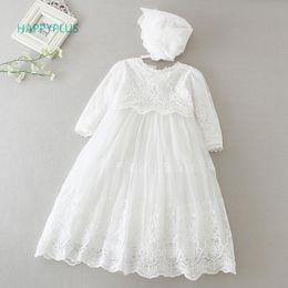 $enCountryForm.capitalKeyWord NZ - Happyplus Baby Dress Long Sleeve sleeveless Kids Second First Birthday Girl Party Gown For Bridesmaid Infant Baptism Dresses Q190518