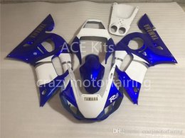 Yamaha Blue Australia - 3 Free gifts Injection MOLD New ABS Fairing Kits 100% Fitment For YAMAHA YZF-R6 98-02 YZF600 1998 1999 2000 2001 2002 blue white F1