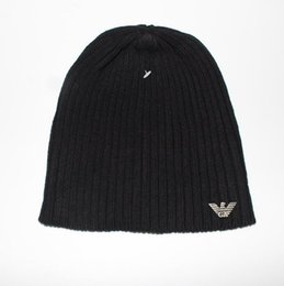 $enCountryForm.capitalKeyWord UK - Wholesale Knitted Hat Designer Champion Winter Warm Thick Beanie Fedora gorro Bonnet Skull Hats for Men women Crochet Skiing 6624