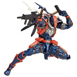 $enCountryForm.capitalKeyWord Australia - Kaiyodo Removeable Revoltech DC Comic Deathstroke Slade Joseph Wilson Action Figure Moveable Model Toy