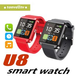 Smart watch bluetooth phone mate Smartwatch online shopping - Fashionable Wearable U8 Smart Watch Bluetooth Phone Mate Smartwatch Wrist for Android iOS iPhone Samsung