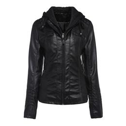 6xl ladies jacket online shopping - Women Jackets Casual Winter Warm Office Lady High Street Plus Size Slim Hooded Solid Zipper Black Coats Female Goth Overcoats