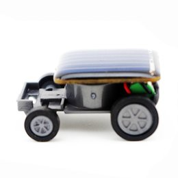 Small Solar powered toy car online shopping - Solar Toys For Kids Smallest Solar Power Mini Toy Car Racer Educational Gadget Gift Toys Interactive Fun Kids Toy