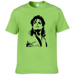 4b1be203f Michael jackson printed t shirt online shopping - Summer Michael Jackson T  Shirt Men Hip Hop