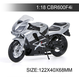 $enCountryForm.capitalKeyWord UK - 1:18 Motorcycle Models CBR600F4I Model bike Alloy Motorcycle Model Motor Bike Miniature Race Toy For Gift Collection