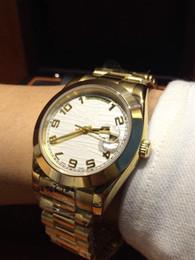 Luxury Watch Gold Plated NZ - W0331N2680AAA all gold luxury watch mechanical men's watch,18K gold plated, do not fade, Switzerland 2836 mechanical movement