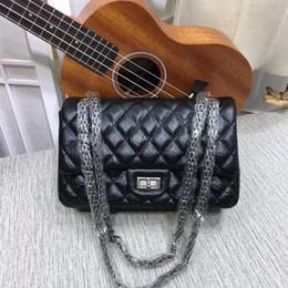 $enCountryForm.capitalKeyWord Australia - Hot sale good quality womens brand 24cm fashion casual Pleated Leather Diamond Lattice Flaps handbags totes vintage chains Shoulder Bags
