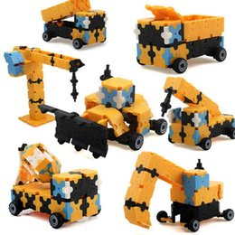 $enCountryForm.capitalKeyWord Australia - 3D DIY Engineering Vehicles Building Blocks Educational Kids Toy New Vehicles Building Blocks